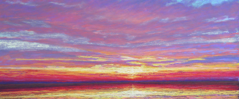 """Sunset"" 40x60"