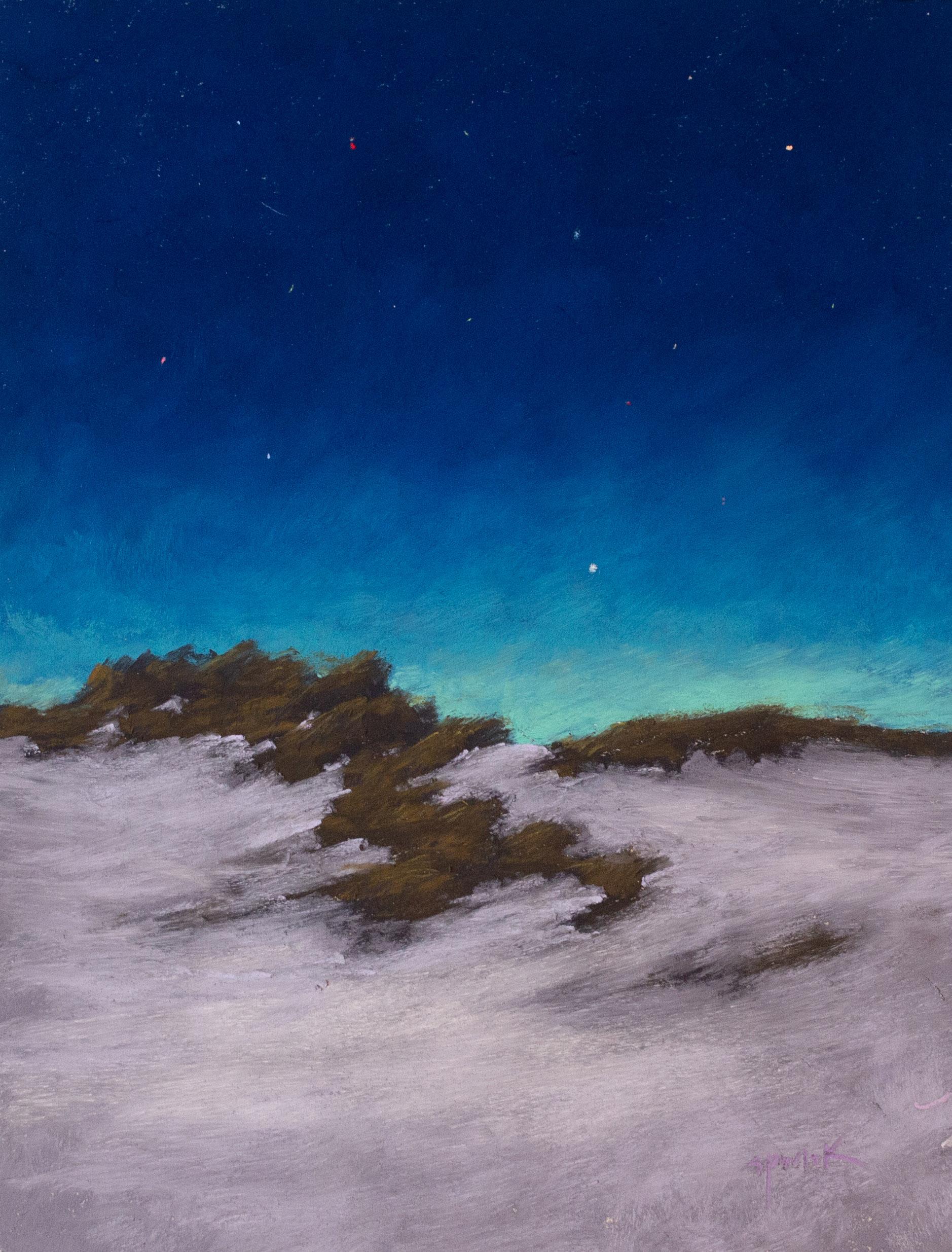 """""""Night Dunes"""" 12x18"""